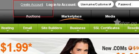 註冊一個域名管理帳戶