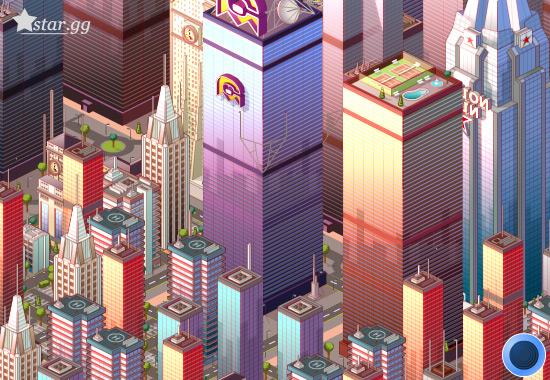 Myminicity中的摩天大樓