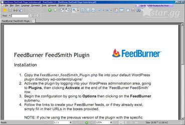 Foxit PDF Reader畫面